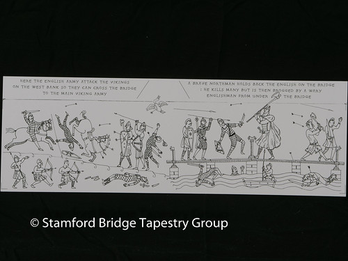 Panel 7 design | by Stamford Bridge Tapestry Project