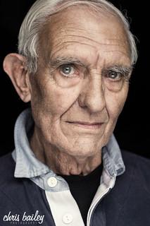 New portrait of Star Wars Actor, Alan Harris - © Chris Bailey 2018   by Chris Bailey Photographer