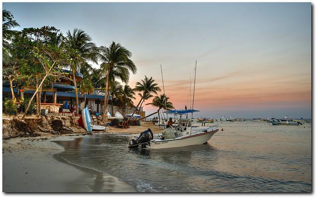 Playa del Carmen Beach IV - evening mood