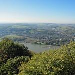 Blick auf Bonn-Mehlem vom Drachenfels aus