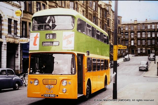 LA2 Glasgow Corporation SGD580 Leyland Atlantean PDR1.1 Alexander