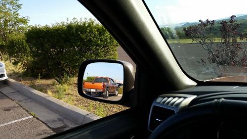 chevy chevrolet colorado z71 chevycoloradoz71 truck rearviewmirror candid