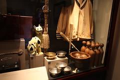 Sailor's Hat and Jersey, Mess Bowls, Nine Pins, Brothel Ceramic Cat