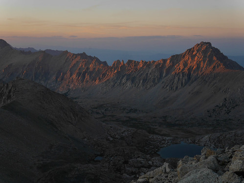 Sunset from Junction Pass   by snackronym