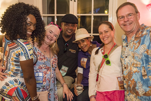 WWOZ staff and volunteers at the Groove Gala on September 6, 2018. Photo by Ryan Hodgson-Rigsbee www.rhrPhoto.com