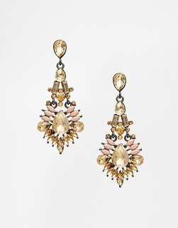 Wedding Rings Inspiration : Such pretty gem drop earrings - | by ADL Magazine