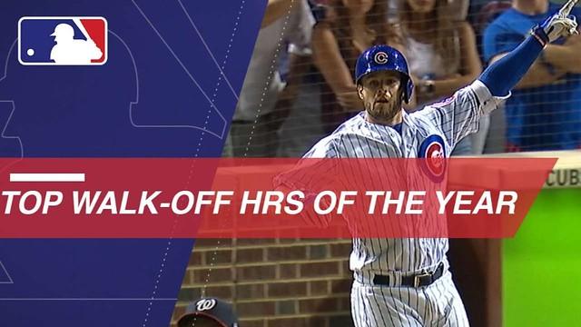 MLB's top walk-off home runs from the 2018 season