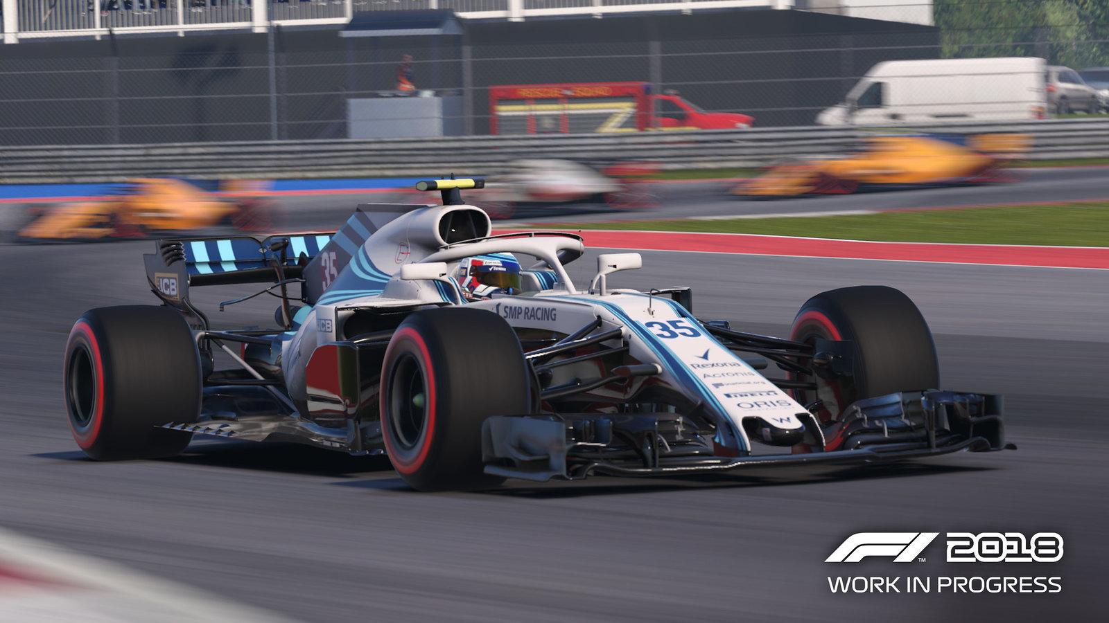 Codemasters F1 2018 Game 1
