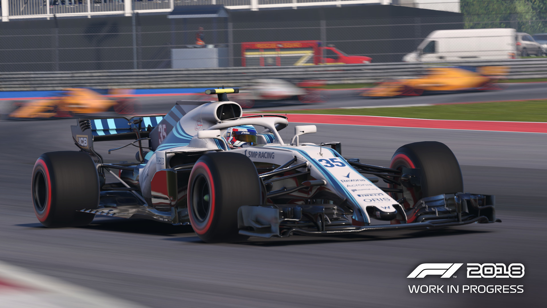 Codemasters F1 2018 Game 1