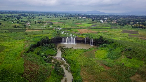 waterresources terraces aerial landscapes waterfall scenery agriculture event photocompetition glf2018nairobi