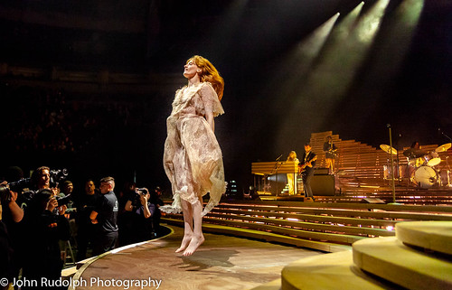 Florence and The Machine shot for Back Beat Seattle   by John Rudolph Photography