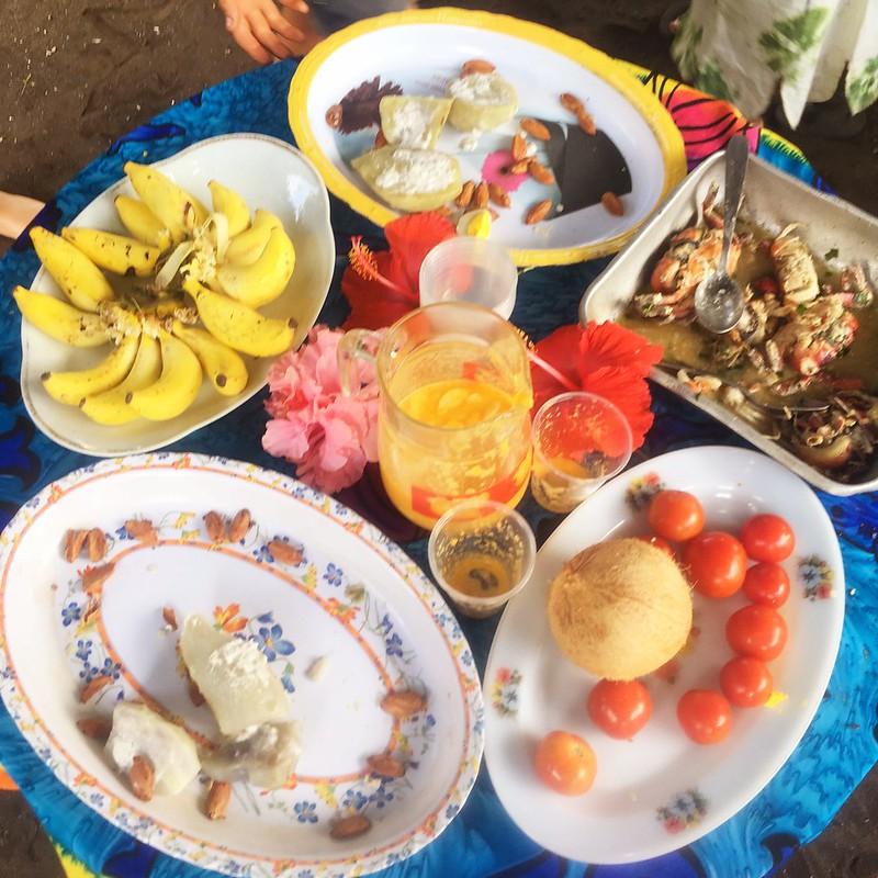 The feast. Paama. Vanuatu.