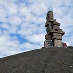 Die Himmelstreppe ist eine Landmarke und Skulptur auf der Halde Rheinelbe