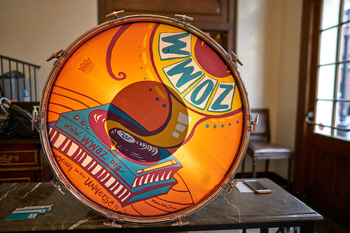 Drumhead at the WWOZ Groove Gala on September 6, 2018. Photo by Ryan Hodgson-Rigsbee www.rhrPhoto.com