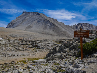 Top of Shepherds Pass---Tyndall is right there! | by snackronym