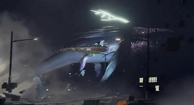 Unknown Fate whale