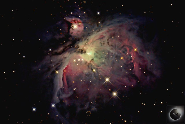 M42 The Orion Nebula 25/01/16* REPROCESS*