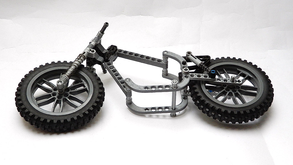 lego black motorcycle