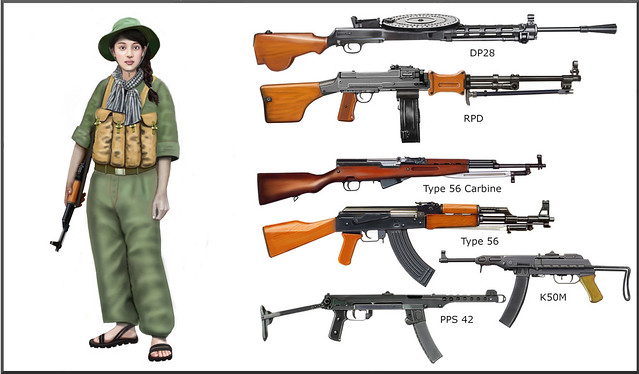 Vietcong fighter