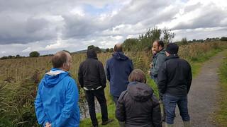 IRWC visits Pollardstown Fen, Sep 2018   by Irish Ramsar Wetlands