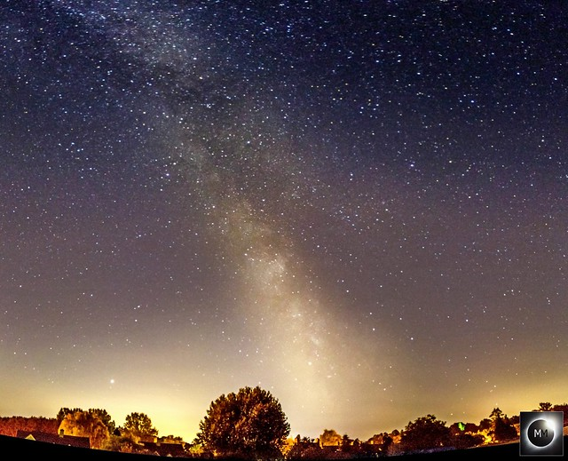 12-Pane Milky Way Mosaic from Oxfordshire 00:40 BST 15/07/18