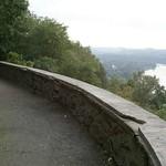 Die Aussichtsplattform an der Korte Klippe