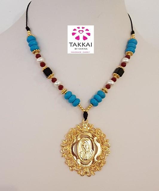 Lady Guadalupe Necklace, Catholic Necklace