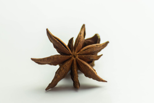 Star anise on a white background | by wuestenigel