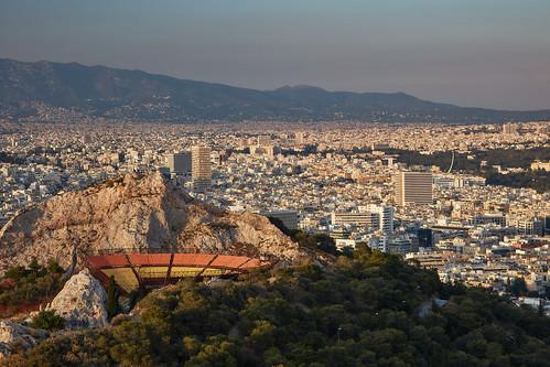 mountlycabettus athens attica greece 2017 lycabettustheatre atticaregion gr