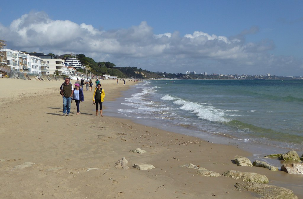 Sandbanks Branksome to Swanage walk
