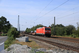 DBC 185 177 met UC langs Ostbevern | by vos.nathan