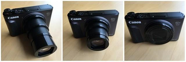 Canon SX730HS triptych