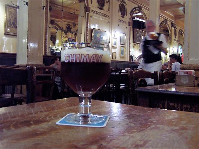 Inside A La Mort Subite, Brussels