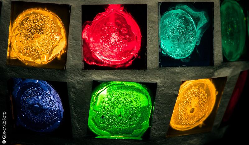 Macro Mondays Multicolor Tealight