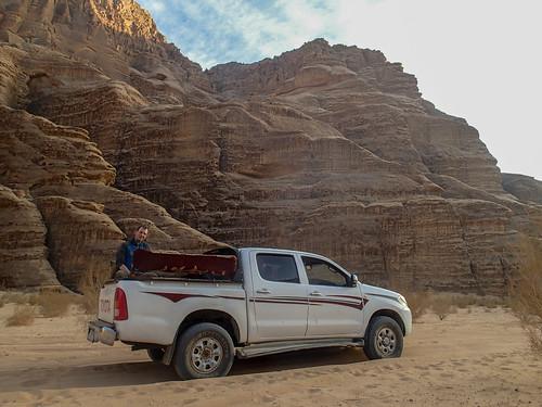 Transport in Wadi Rum desert | by Masa Sakano