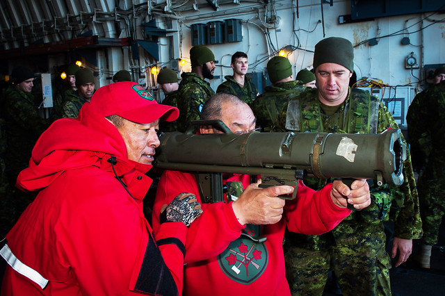 Weapons Handling with the Canadian Rangers