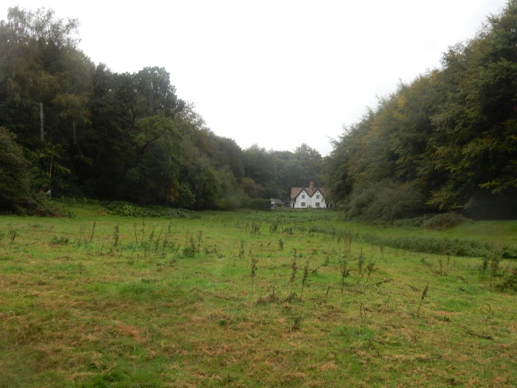 "Hunter's Lodge Or ""Baba Yaga's House"" as it was dubbed on a previousw visit. Oxted Circular"