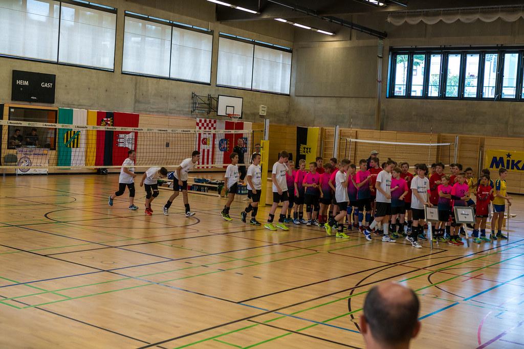 Deutsche Meisterschaft 2018 der männlichen U14 in München