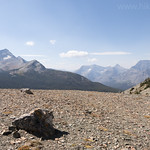 Looking south from Firebrand Pass