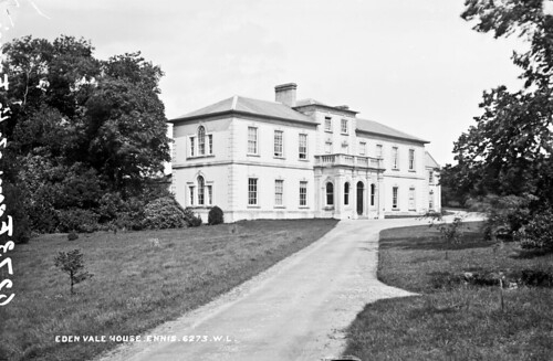 robertfrench williamlawrence lawrencecollection lawrencephotographicstudio thelawrencephotographcollection glassnegative nationallibraryofireland clare coclare munster ennis edenvale house eden vale stacpoole williamstacpoole sanatorium clareabbey countryseat stackpole stackpoole