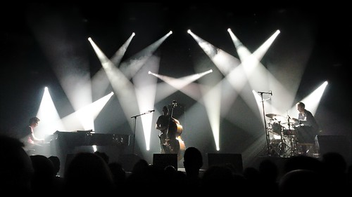 GoGo Penguin under the floodlights | by Gael Varoquaux