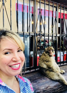 Picture with Macaque monkey | by iamsittingpretty