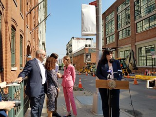 DUMBO HD Marker Unveiling_2 | by NYC Landmarks Preservation Commission