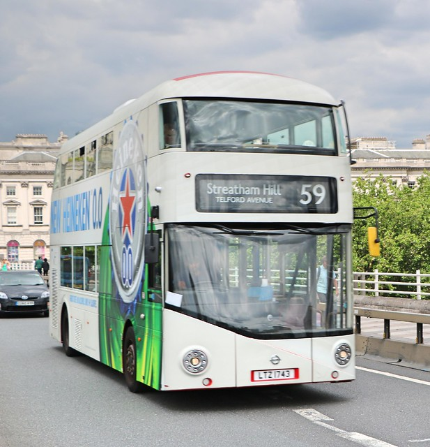 Arriva London - LT743 - LTZ1743 - Heineken