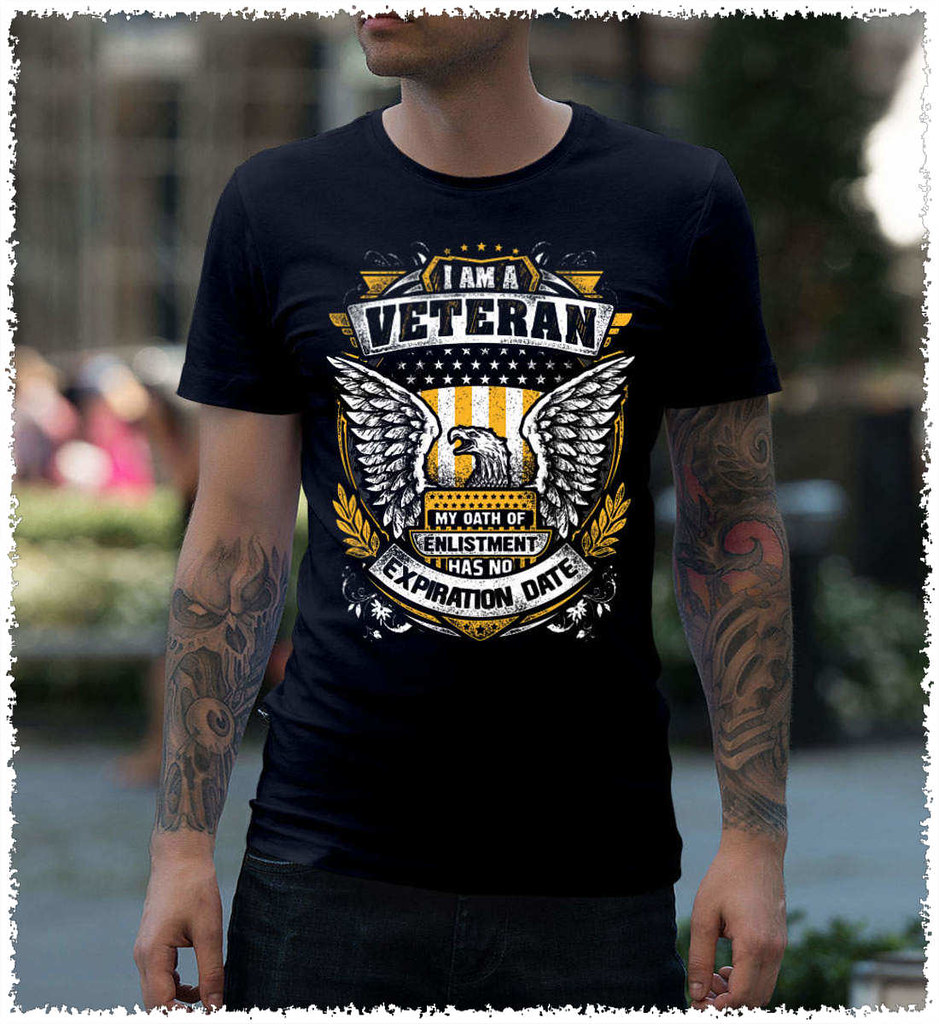 I am a Army Veteran My Oath of Enlistment Has No Expiration Date T-Shirt
