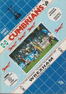 Carlisle United 19-11-89 | by cumbriangroundhopper
