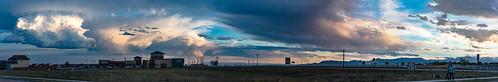 pano panorama panoramic colorado coloradosunsets sunsets sky nikon nikond810 landscape