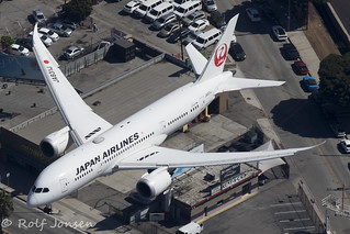 JA831J Boeing 787-8 Japan Airlines Los Angeles airport KLAX 14.09-18 | by rjonsen