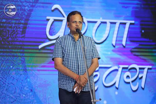 Cabinet Minister, Delhi Government, Shri Satyendar Jain, expresses his views