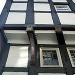Front eines Fachwerkhauses in der Hattinger Altstadt